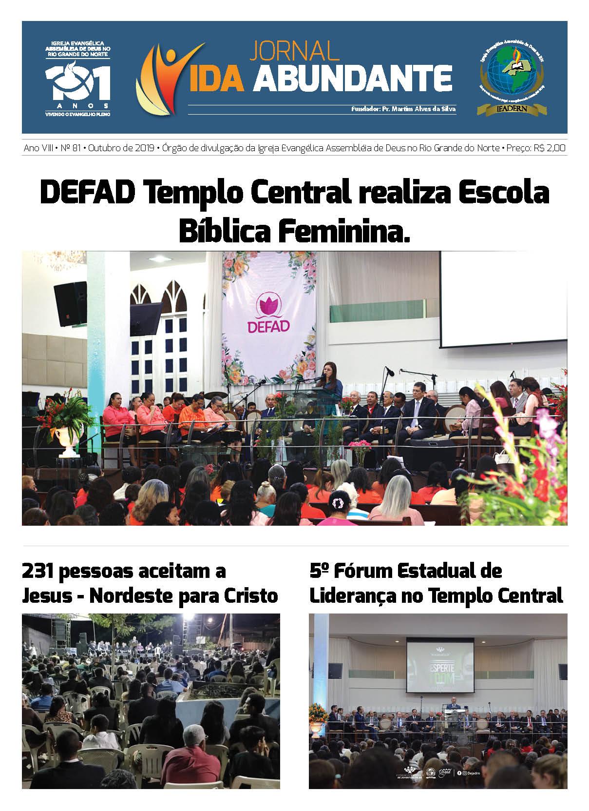Jornal Outubro de 2019
